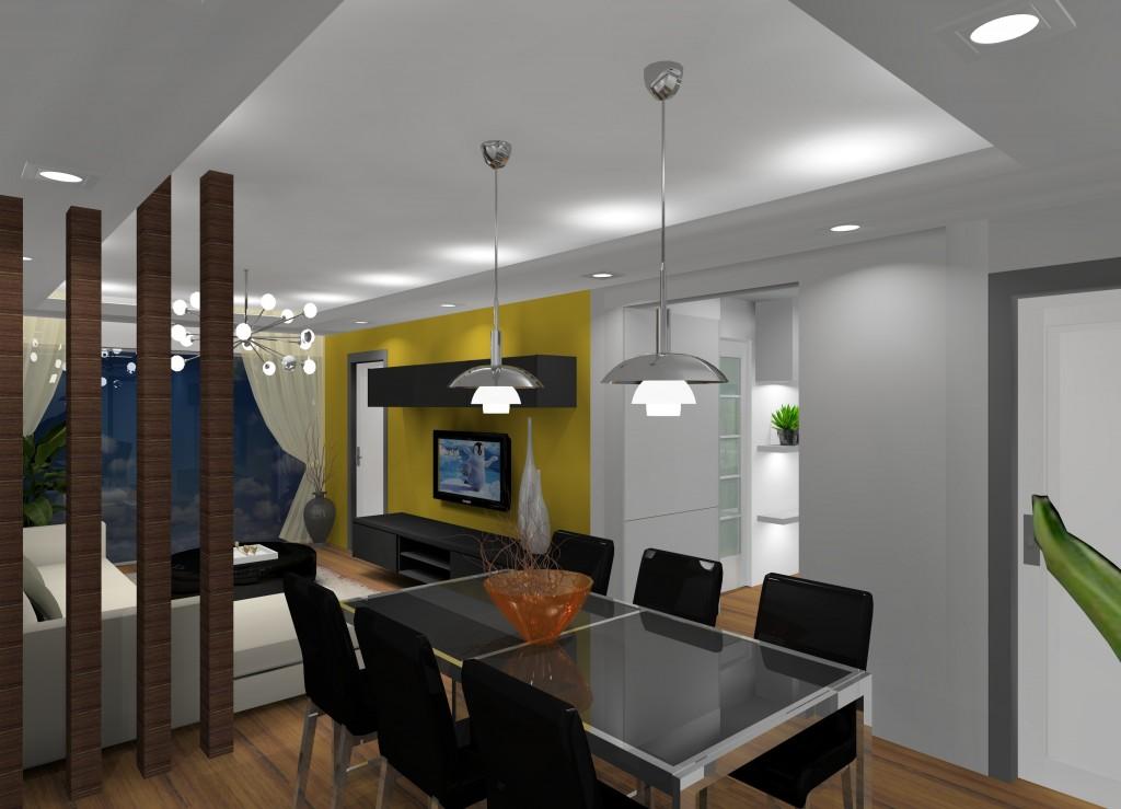 dekorasi ruang tamu rumah teres setingkat desain rumah