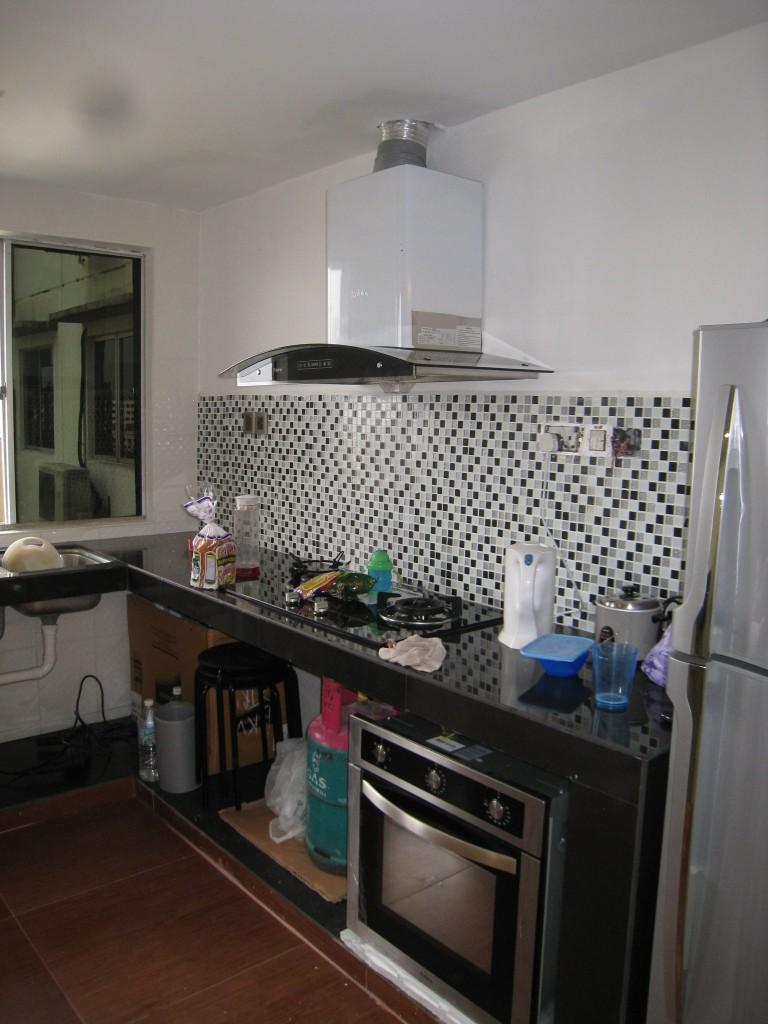 Dapur Belum Pasang Kitchen Cabinet
